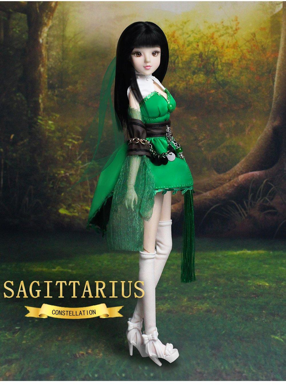 Mystery Magic Girl Fortune Days BJD doll 12 inch Twelve constellation series doll (SAGITTARIUS)