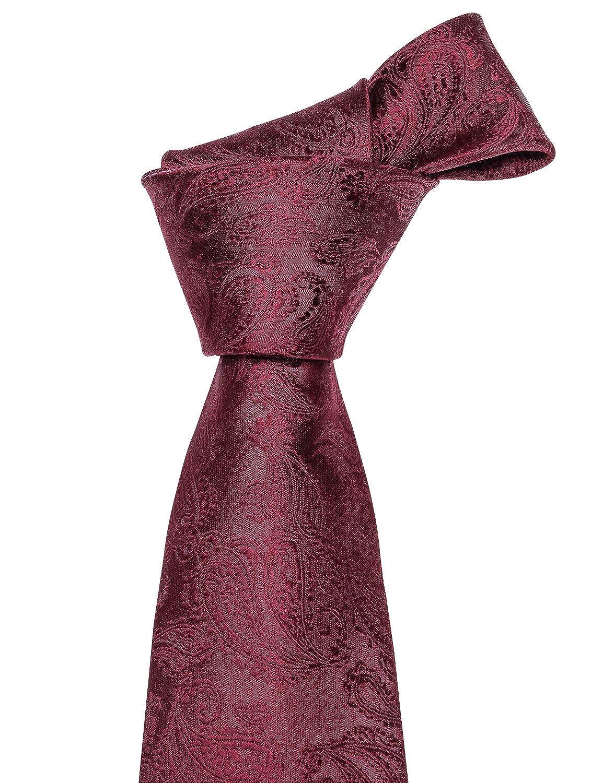 Cravate Barry.Wang Homme Rouge bordeaux Taille unique