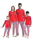 MyFav Matching Family Christmas Pajamas Set Soft