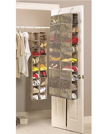 Schuh Aufbewahrung schuhaufbewahrung zum aufhängen 18 fächer für kleiderschränke