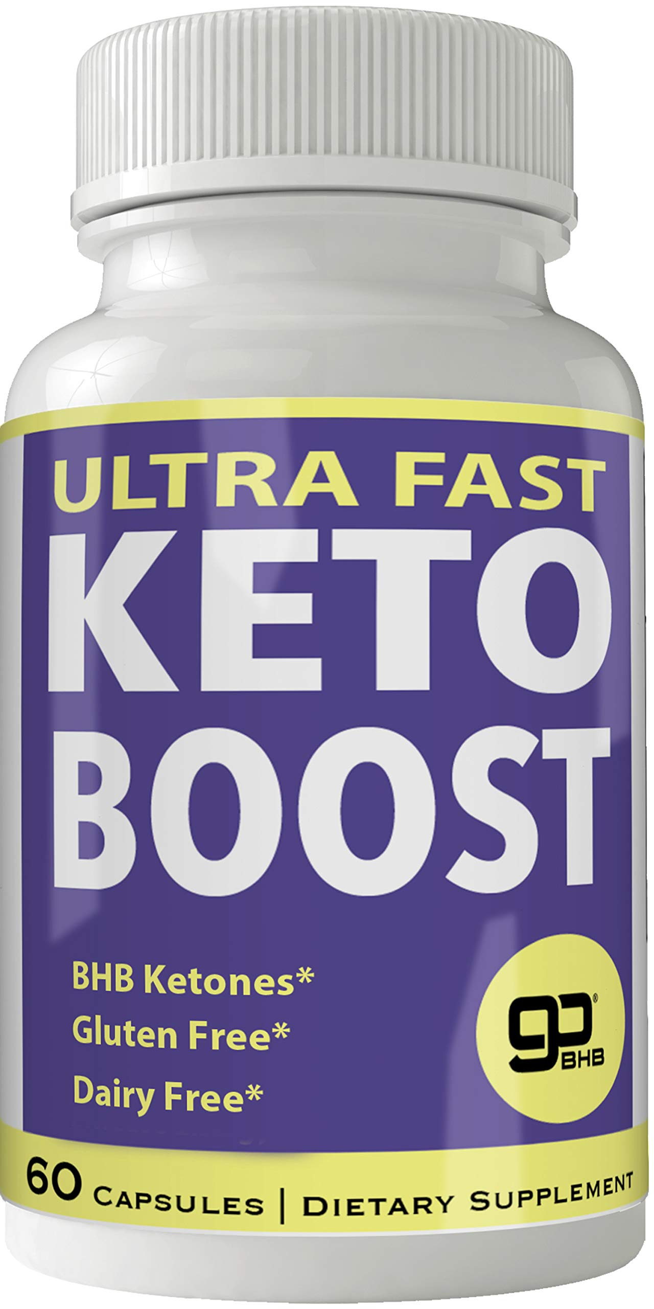 Ultra Fast Keto Boost Weight Loss Pills with Advanced Natural Ketogenic BHB Burn Fat Supplement Formula 800MG Capsules by nutra4health LLC