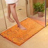 Tapis de bain épais et doux Eleoption. Tapis de cuisine, paillasson de porte d'entrée, tapis antidérapant. Tapis de bain et douche. Tapis épais (45cm x 70cm)