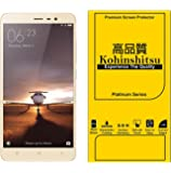 Kohinshitsu Platinum Series Tempered Glass Screen Protector for Xiaomi Redmi Note 3 Mobile Phone