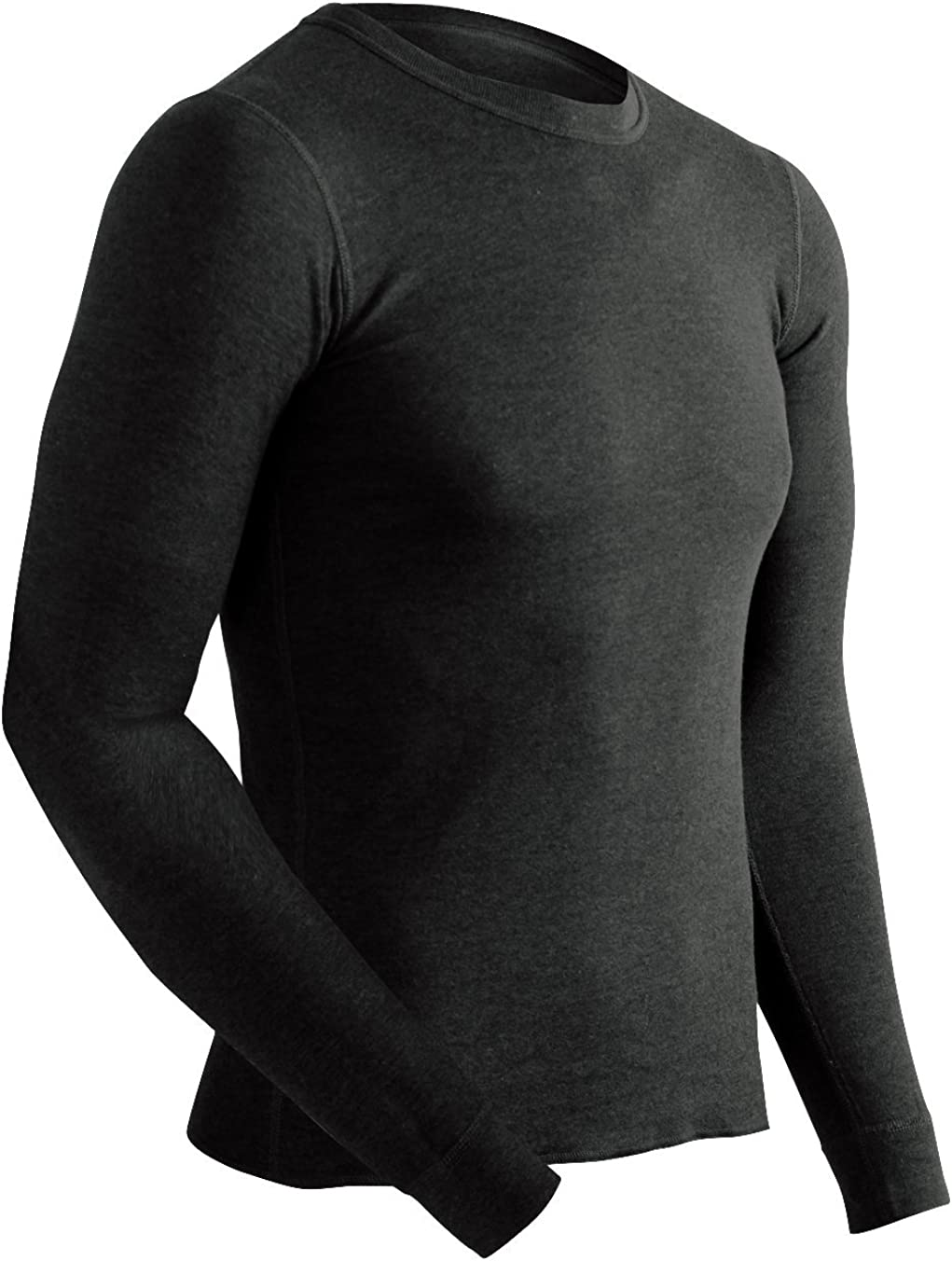 ColdPruf Men's Extreme Performance Dual Layer Long Sleeve Crew Neck Base Layer Top, Black, XX-Large Extreme Performance Men's Crew Top