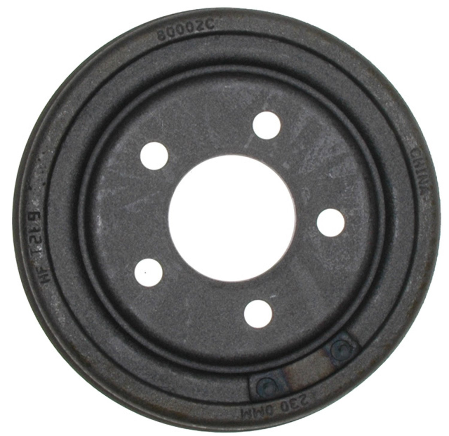 ACDelco 18B232 Professional Rear Brake Drum Assembly