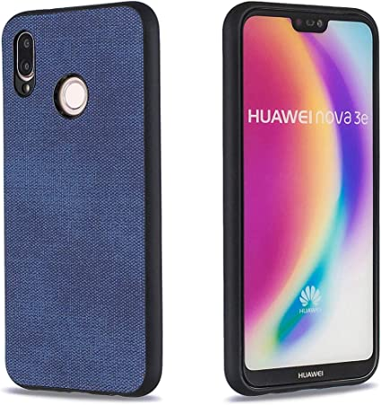 Lotuslnn para Huawei P20 Lite Tela Silicona Funda Protection Anti ...