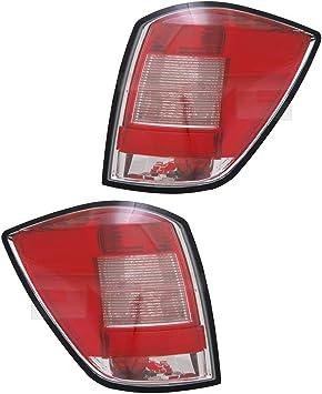 Heckleuchten Rückleuchten Rücklicht Set Rechts Links Satz Für Modell Astra H Baujahr 02 2007 10 2010 Kunststoff Ohne Lampenträger Auto