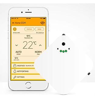 Vemer - Termostato GSM, color blanco: Amazon.es: Bricolaje y ...