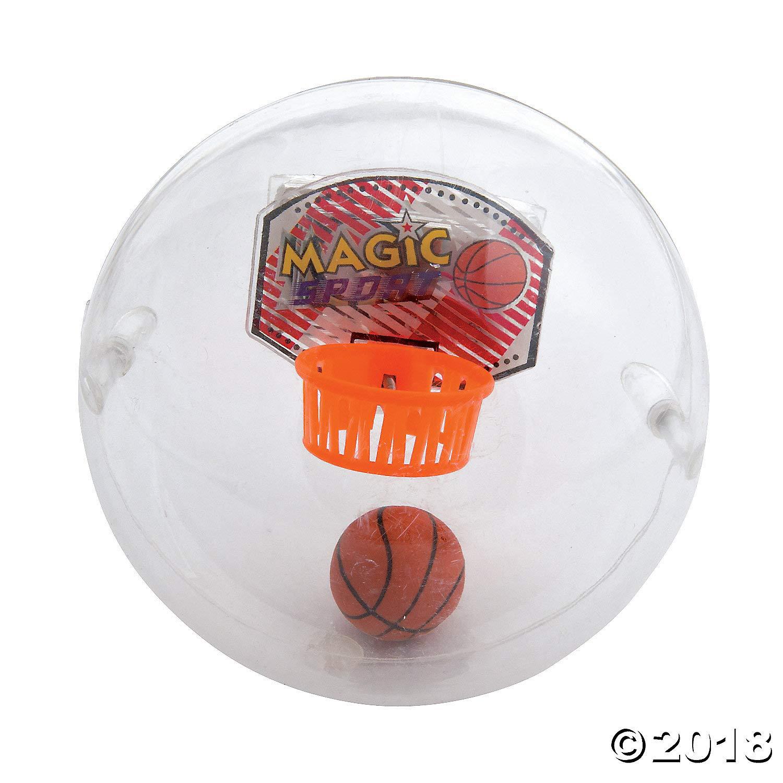 Fun Express Rock Ball Toy Basketball Game Inside Ball