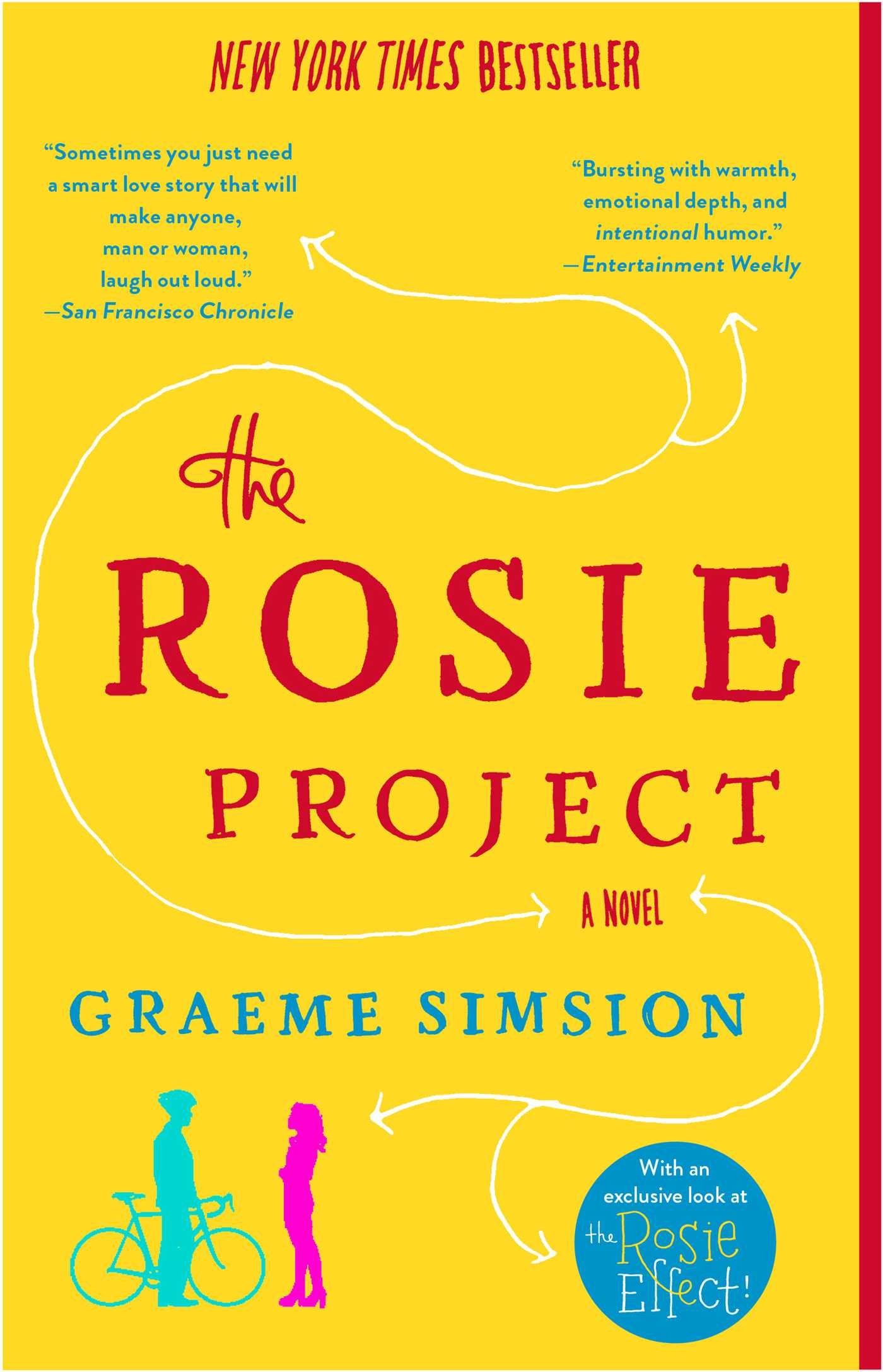 The Rosie Project: A Novel Paperback – June 3, 2014 Graeme Simsion Simon & Schuster 1476729093 Humorous