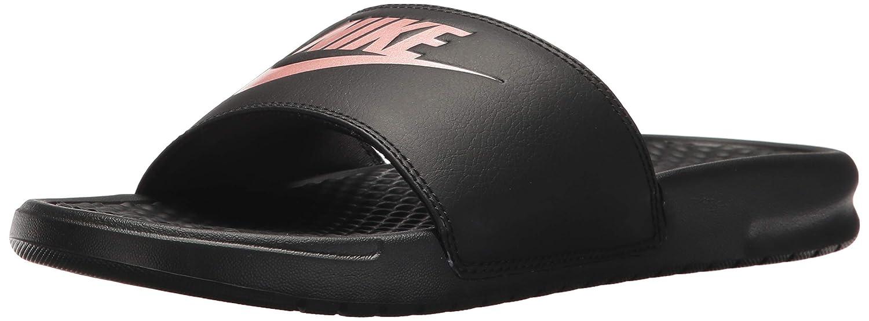 on sale 0dbb8 5789d Nike WMNS Benassi JDI, Chaussures de Sports Aquatiques Femme  Amazon.fr   Chaussures et Sacs
