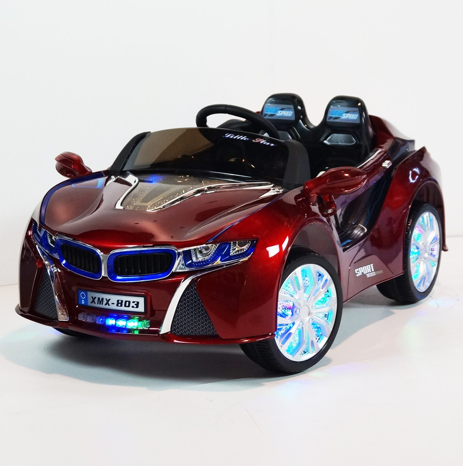 Amazon BMW i8 ride on car Safe & Reliable Kids Car 12 volt