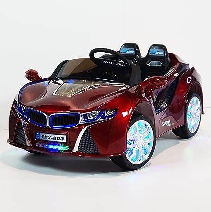 Amazon Com Bmw I8 Ride On Car Safe Reliable Kids Car 12 Volt