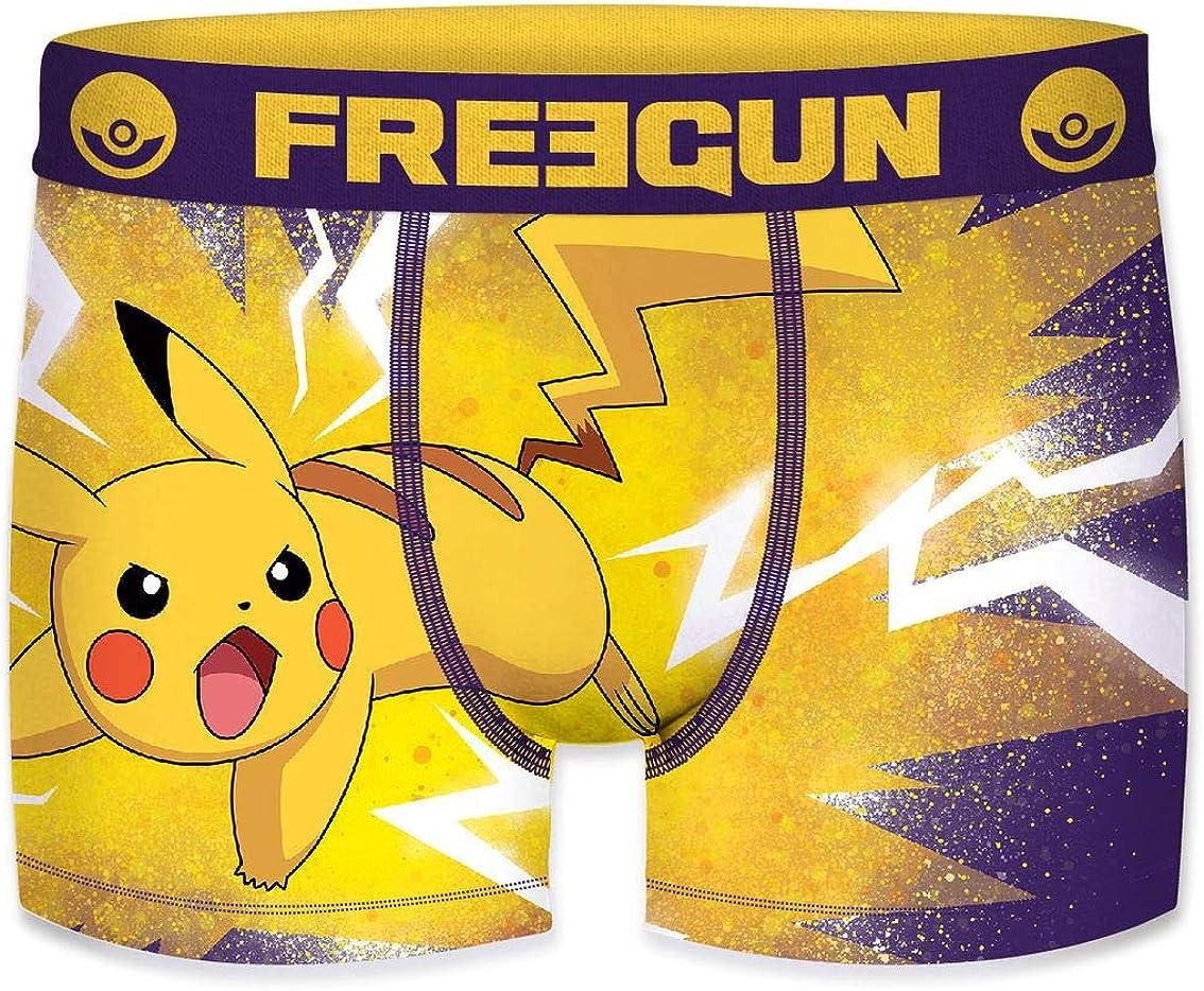 FREEGUN Set Boxers Briefs for BOY Sublimation Printing Pokemon Man OR Boy
