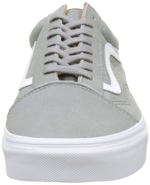 classic fit 102bb c9caa Vans Unisex Old Skool Zapatillas clásicas de skate Wild Dove   True White