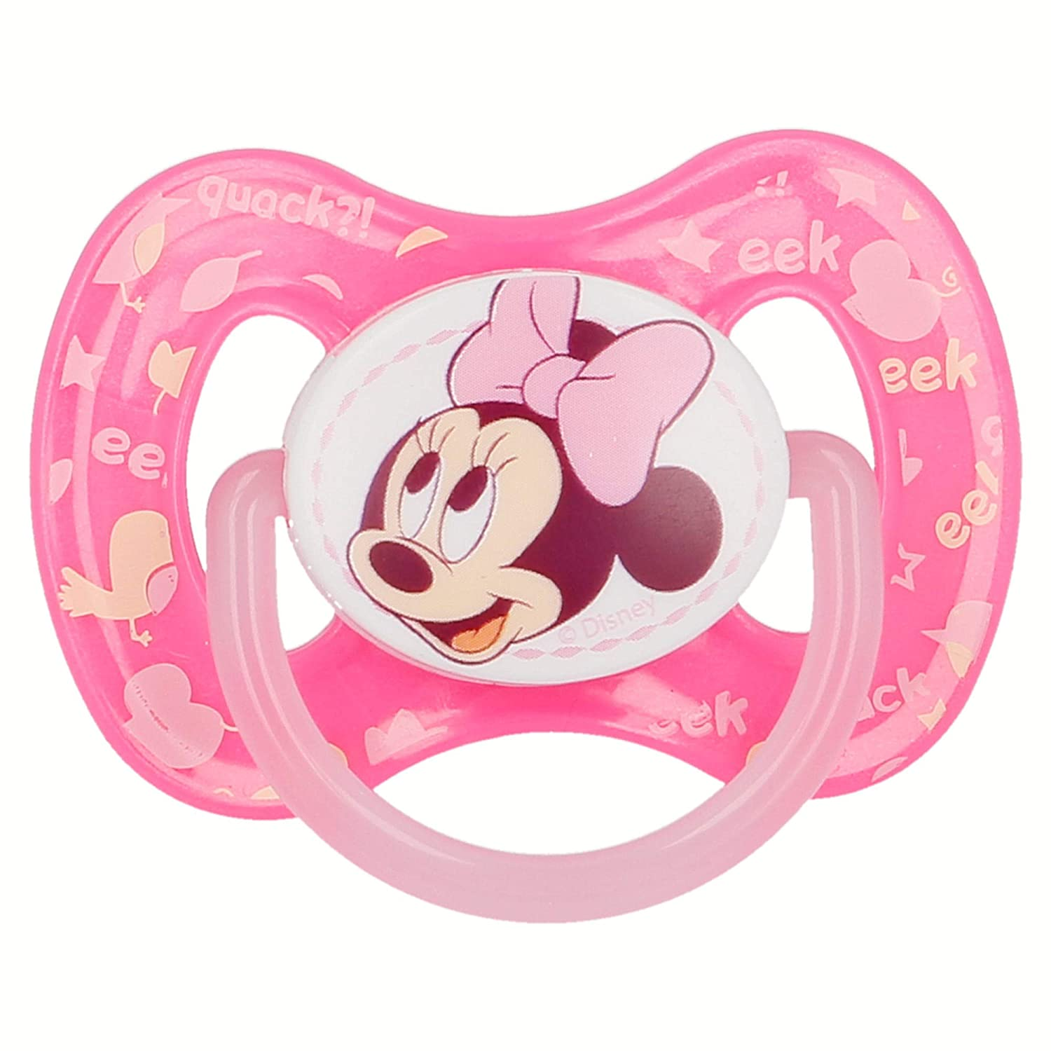 CHUPETE REVERSIBLE TETINA FISIOLOGICA SILICONA +6 M MINNIE MOUSE - DISNEY - BABY PAINT POT