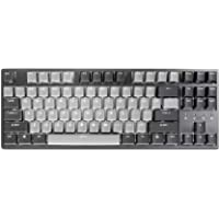 Durgod Taurus K320 TKL Mechanical Gaming Keyboard - 87 Keys - Double Shot PBT - NKRO - USB Type C (Cherry Silent Red…