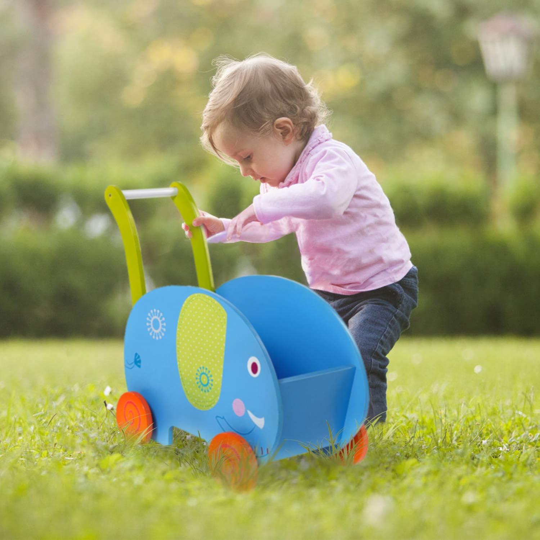 Amazon.com: labebe - Baby Walker Toy for Girl&Boy, Push/Pull ...