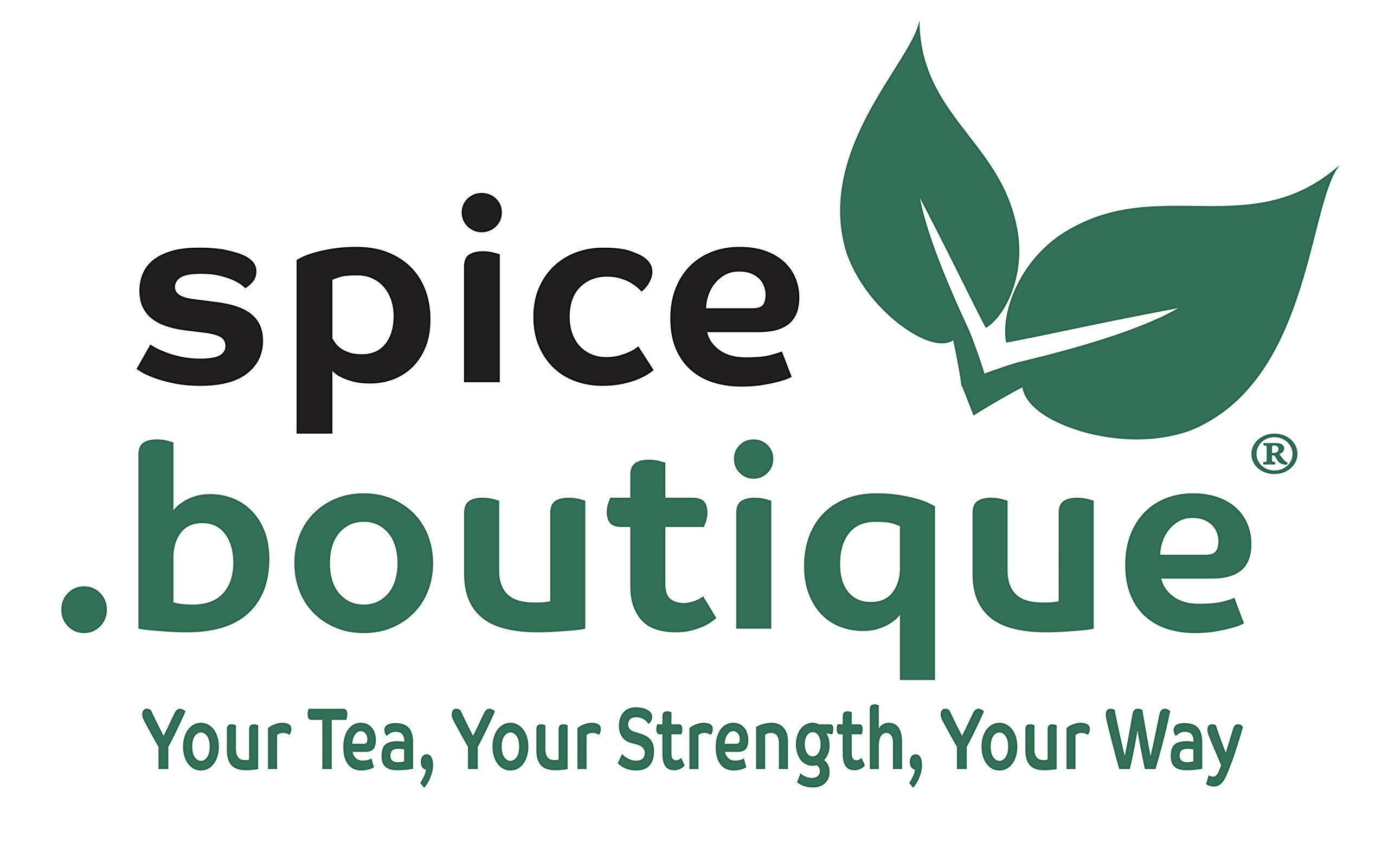 Spice.boutique Unbleached Paper Self Fill Teabags, Plastic Free, One Pot Size 7x9cm, 500