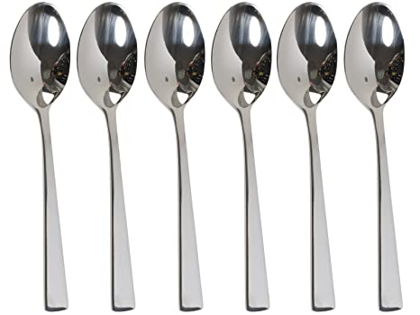 Randwyck cucharillas de café de acero inoxidable - Set de 6 ...
