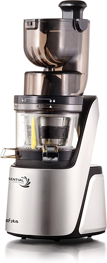 Chef Plus Essential Slow Juicer: Extractor de zumos, BPA Free, ultrasilencioso y con más Potencia 400W: Amazon.es: Hogar