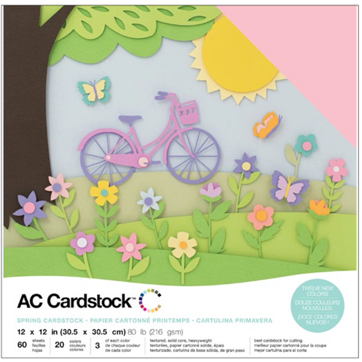 American Crafts Cardstock 12 by 12''