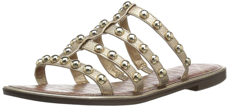 Sam Edelman Women's Glenn Slide Sandal B078HHYFKP 5 B(M) US|Dark Molten Gold