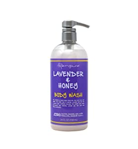 Renpure Lavender & Honey Body Wash, 24 Ounces