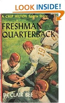 Chip Hilton #9: Freshman Quarterback by Clair Bee 1952 HC/DJ Football