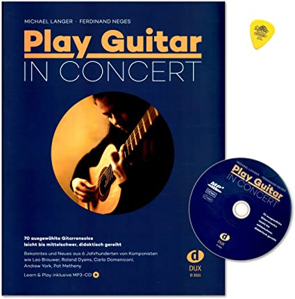 Play Guitar In Concert – 70 Seleccionados Guitarra Solos – Fácil ...