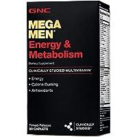 GNC Mega Men Energy Metabolism 90 Caplets