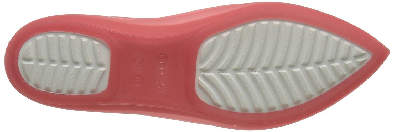 Crocs (Coral/Oyster) Damen Crocsárioáflatáw Ballerinas Rot (Coral/Oyster) Crocs 21e59c