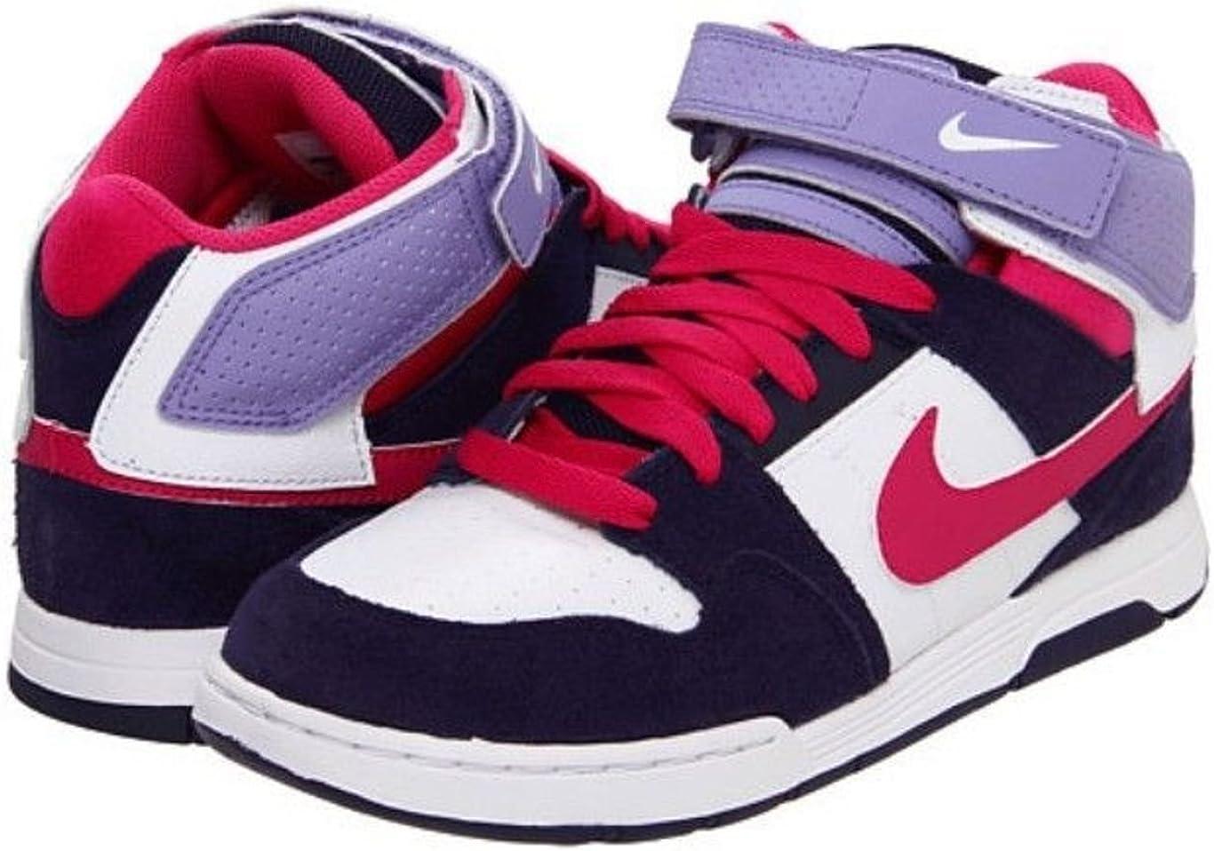 camuflaje Premonición Ciudadano  Amazon.com | Nike 6.0 Mogan Mid 2 Jr G Girl Athletic Shoes Size 6 | Walking