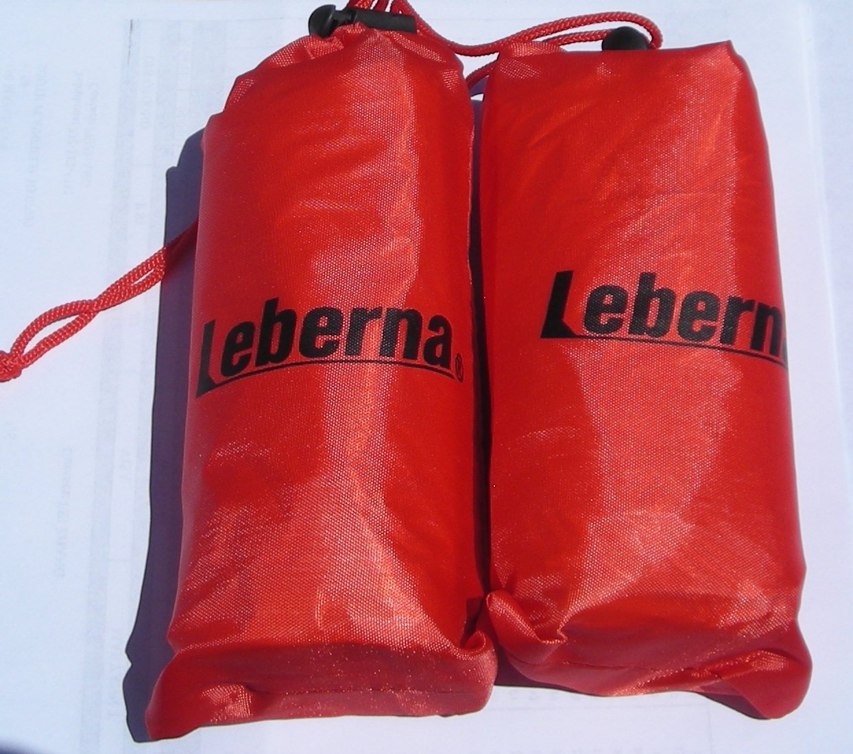 Emergency Survival Mylar Thermal Sleeping Bag - 3 FT x 7 FT 36''x84'', 2 Sleeping Bags in One Box, Each Sleeping Bag in One Carry Bag