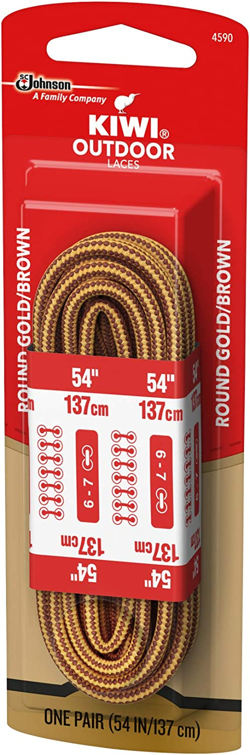 Details about  /Lot Of 24 Pair Kiwi Select 30 Inch Brown Shoe Laces