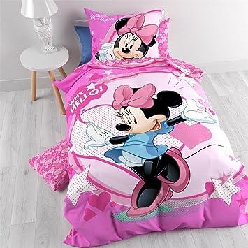 100 Baumwolle Disney Minnie Mouse Bettwasche 140x200 Cm Mit