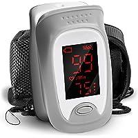 Duronic OX01R Saturatiemeter | Nauwkeurige SpO2, Bloed Zuurstofgehalte & Hartslag Metingen | Pulsoximeter met Duidelijk…