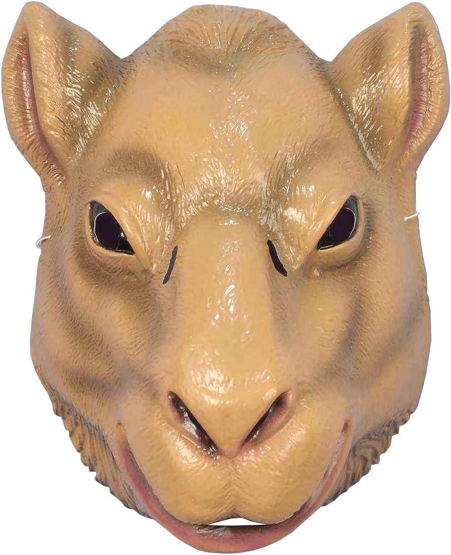 Pig Mask Plastic Front Face Mask Child to Adult Size Barnyard Animal Mask