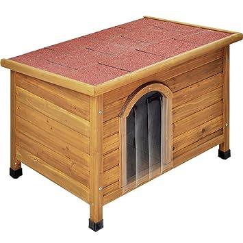 Caseta de perro techo plano Caseta de perro (1)
