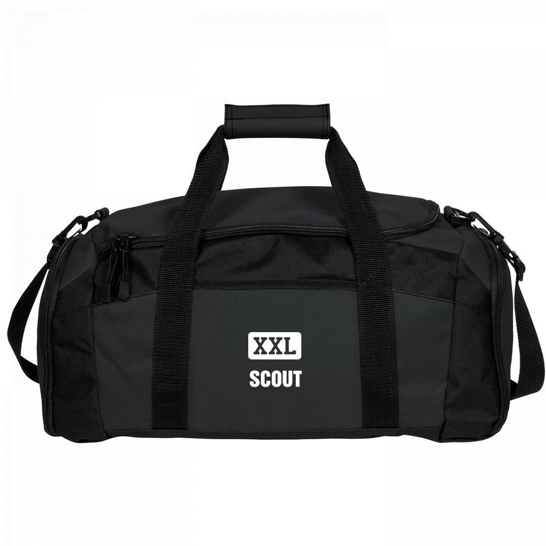 Scout Gets A Gym Bag: Port & Company Gym Duffel Bag by FUNNYSHIRTS.ORG