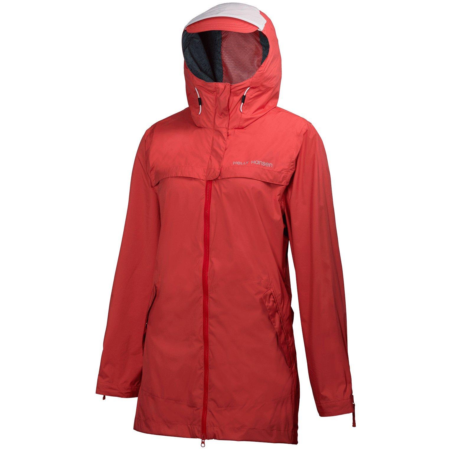 Helly Hansen Calais Coat - Women's Summer Red Small