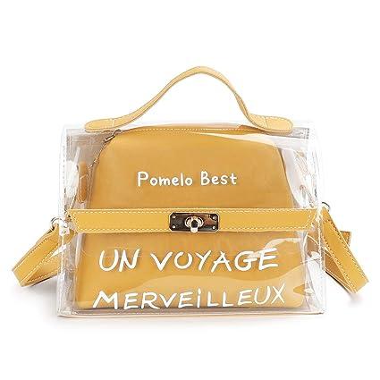 88bf089fbf4 Pomelo Best Sac Messenger Mini Bandoulière Femme Cabas Sac D épaule Sac  Fourre-Tout