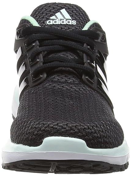 Adidas Energy Cloud WTC, Zapatillas de Running para Mujer, Negro (Utility Black/Cloud Black/Ice Green), 38 2/3 EU