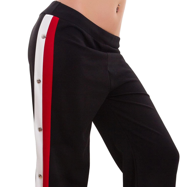0fed4e2a1f7527 Toocool - Pantaloni Donna Palazzo apribili Aperti lateralmente Eleganti  Nuovi GI-80062 [Taglia Unica,Nero]: Amazon.it: Abbigliamento