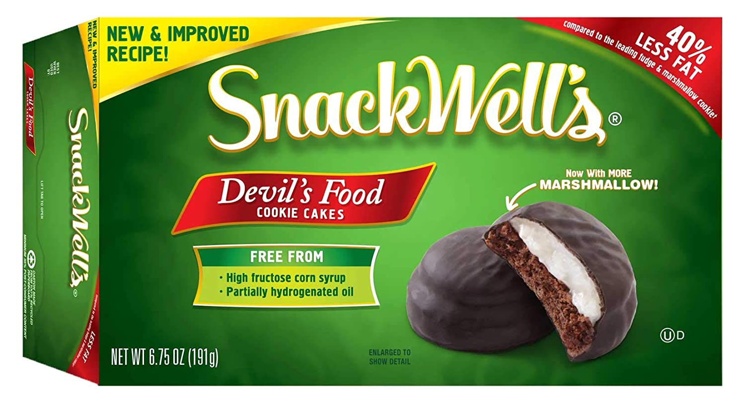 Snackwells Devils Food Cookie, 1.1 Ounce -- 48 per case.
