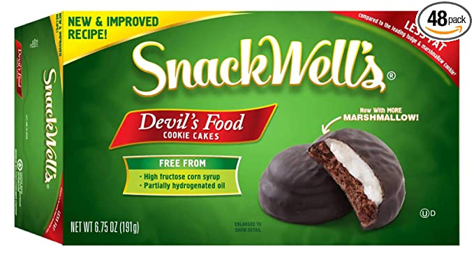 Snackwells Devils Food Cookie, 1.1 Ounce -- 48 per case.: Amazon ...