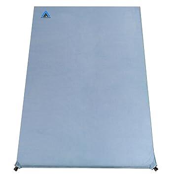 10T Outdoor Equipment Ben 800 Duo Kronenburg Handel GmbH - Esterilla Aislante autohinchable, Azul, 200 x 130 x 8 cm: Amazon.es: Deportes y aire libre