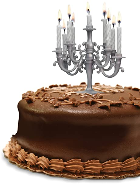 Amazon CAKE CANDELABRA BIRTHDAY CANDLE SET BY FRED AND FRIENDS GREAT GIFT PARTY HOME Everything Else