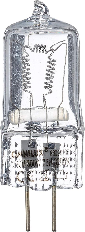Omnilux 88296105 Gx 6 35 Lampe 230volt 300 Watt 75h 3200k Musikinstrumente