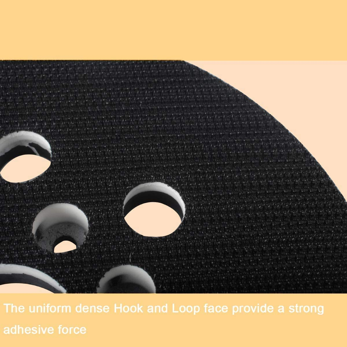 PEX 220 A 125 mm Velcro Sanding Plate Replacement Poweka Pad for Bosch RS035 GEX 125-1 AE Skil 7402//7490 PEX 220 AE